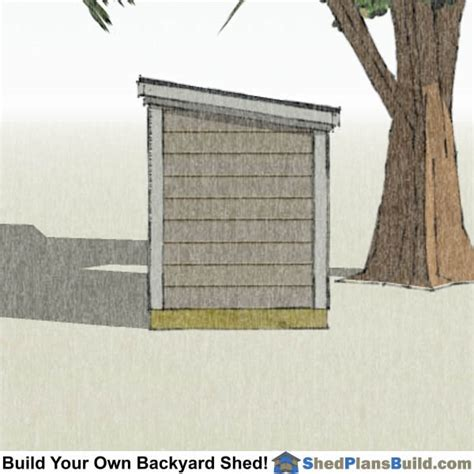 4x8 Shed Plans Free by 4x8 Lean To Shed Plans