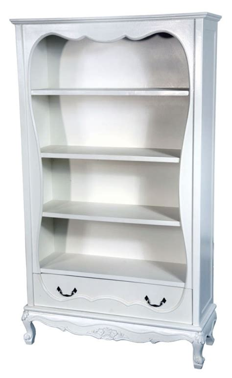 antique white shabby chic bookcase free delivery