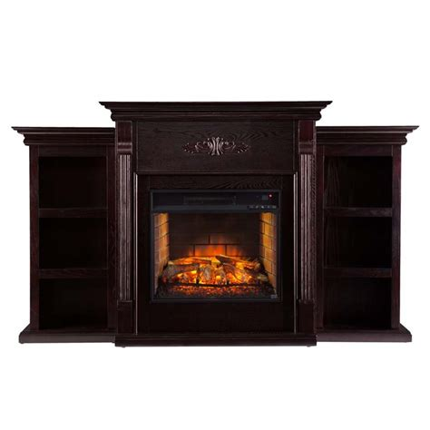 Electric Fireplace Infrared by Southern Enterprises Tennyson Infrared Electric Fireplace