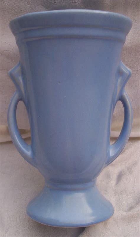 Mccoy Vase Value Haeger Pottery Vase Two Handled Art Deco Shawnee Large