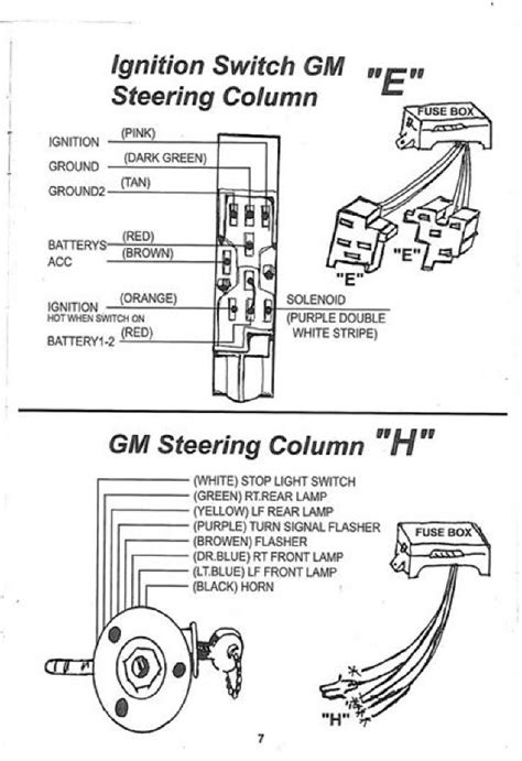 ididit steering column wiring diagram 7 3 powerstroke