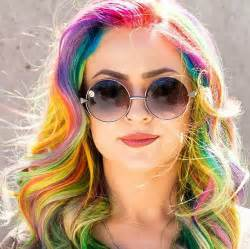 colored hair styles rainbow hair colors for holidays 2016 hairstyles 2017