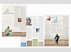 Retirement Investment Services Newsletter Template - Word ... Holiday Gift Guide Microsoft