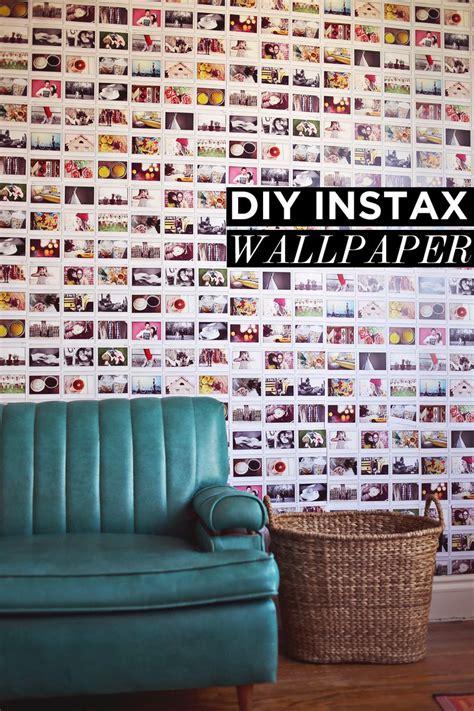 Wallpaper For Walls Diy | diy instax wallpaper a beautiful mess