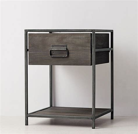 Nightstand Metal Legs by Best 25 Metal Nightstand Ideas On Hairpin