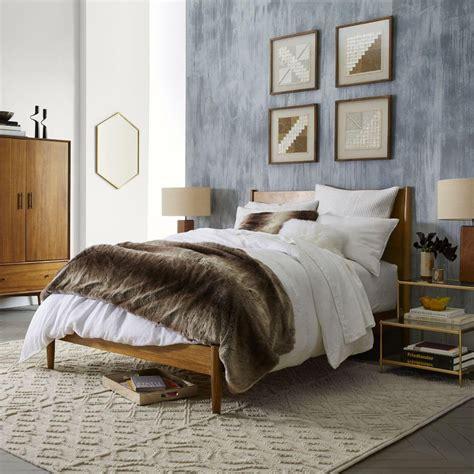west elm beds mid century bed acorn west elm au