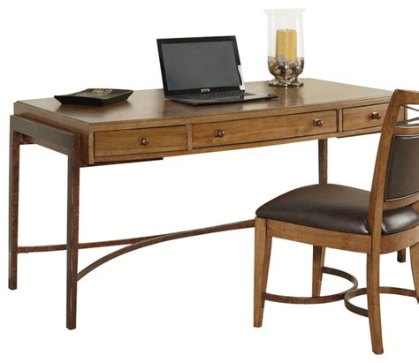 Houzz Office Desk Hammary Home Office Leg Desk Traditional Desks By Beyond Stores