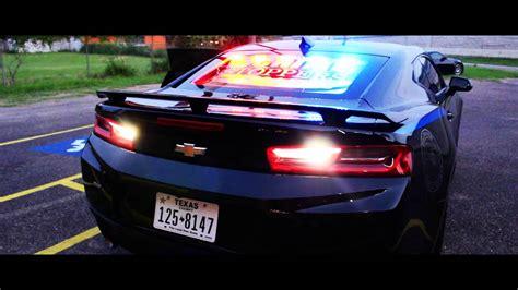 police camaro 2016 camaro ss police edition youtube