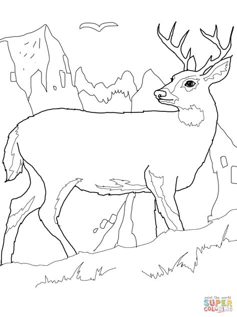 printable reindeer tails good deer coloring page 98 with additional free colouring