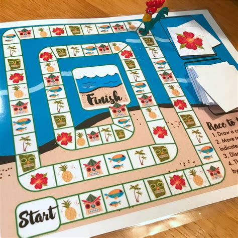 great printable board games moana inspired printable board game views from a step stool