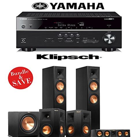 klipsch rp 260f reference premiere 5 1 home theater system