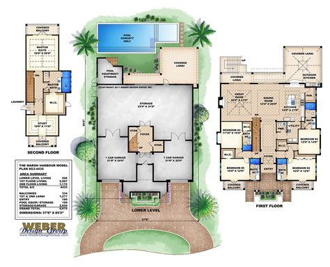3 story beach house plans 3 story house with pool 3 story beach house plans coloredcarbon com