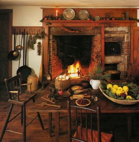 a rustic country kitchen in the early american style 17 best images about colonial hearth on pinterest