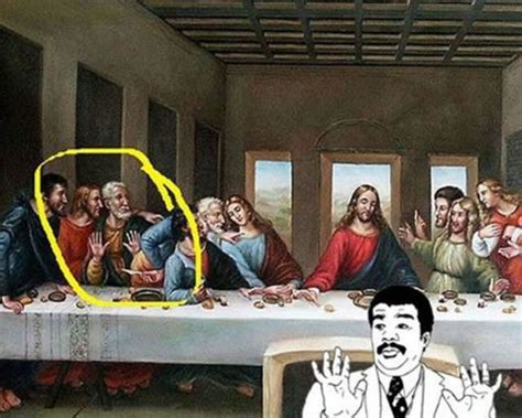 Last Supper Meme - parodias de la ltima cena