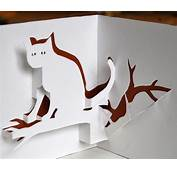 Cat Pop Up Card You Can Download And Make Yourself