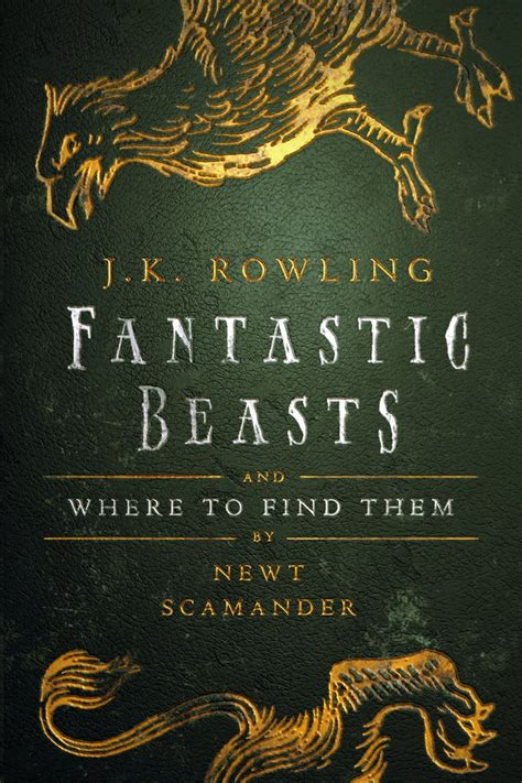 where to find j k rowling has an updated fantastic beasts book on the way