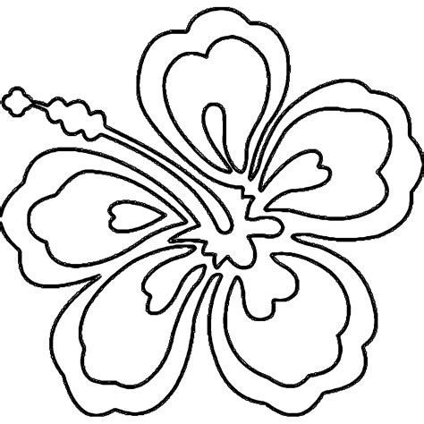 Awesome Coloring Sheets by Awesome Hawaiian Flower Coloring Pages Collection