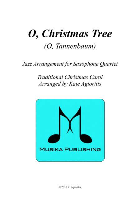 download o christmas tree o tannenbaum jazz carol for