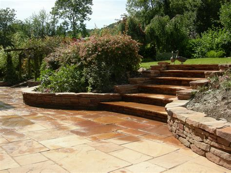 Stairs In House driveways and patios for easy maintenance