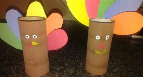 Craft Ideas Using Empty Toilet Paper Rolls - diy toilet paper roll turkey craft idea