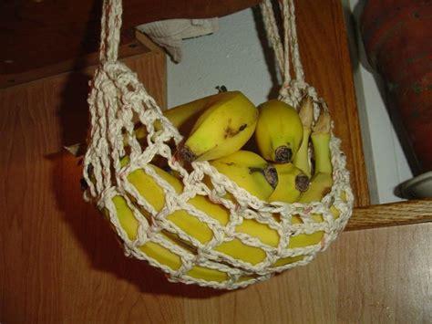 Banana Hammock Kitchen by Banana Hammock Crochet Pattern Helps It Stay Fresh