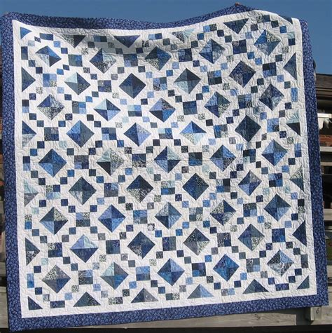 pattern for blue and white quilt blue white quilt