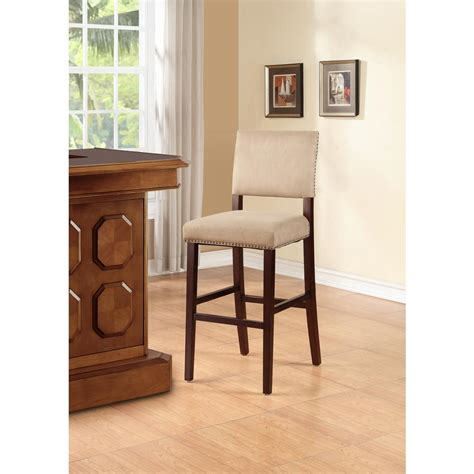 K D Furniture Bar Stools by Linon Home Decor Corey 30 In Cushioned Bar Stool