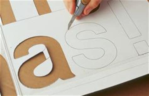 Handmade Stencils - how to make stencils from used cardboard howstuffworks