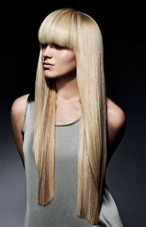 Super long blonde hair hair pinterest