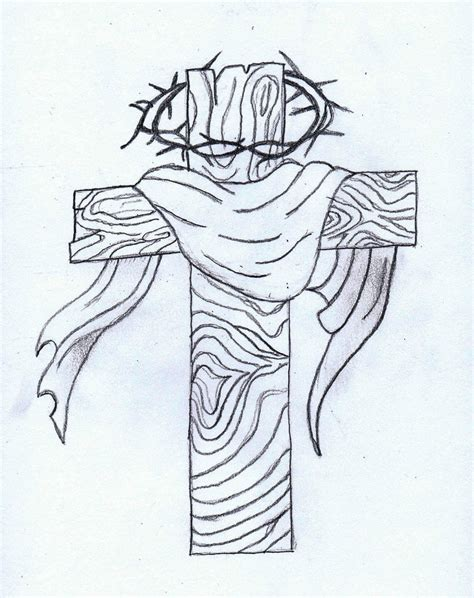 cross tattoo drawing sketches of crosses www imgkid the image kid has it