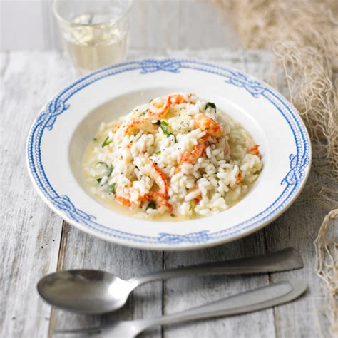 country homes and interiors recipes crayfish risotto recipes ideal home
