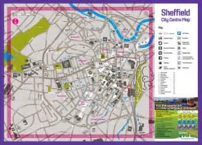 sheffield map image gallery sheffield map