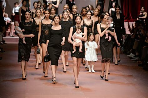 Celebrate Dolce Gabbana by D G Celebrate Motherhood In Fall Collection