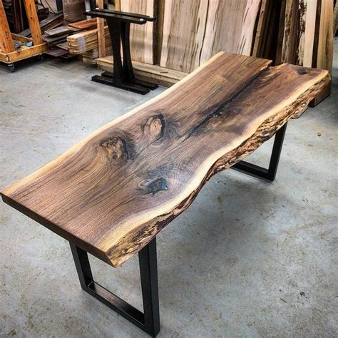 rustic wood corner desk could be neat as added counter space or even the base for