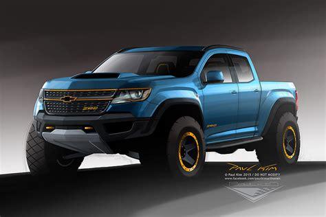 Colorado Zr2 Concept by Chevrolet Colorado Zr2 Concept Design