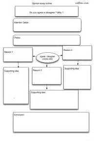 Personal Opinion Essay Outline by Pin Essay Outline Worksheet On