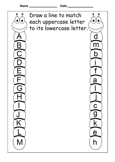 Abc Worksheets by Free Abc Worksheets For Pre K Activity Shelter