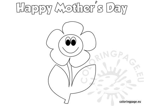 mothers day coloring pages for preschool mother s day coloring page for kids