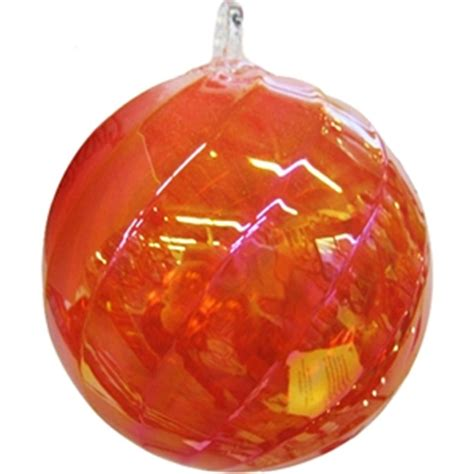 orange ornaments moonmarble orange swirl ornament