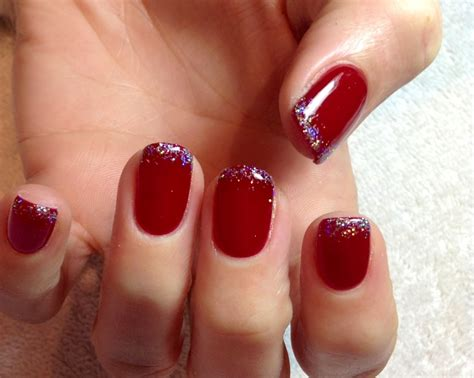 Manicure Gel gel nails carlybow nails