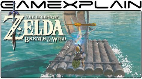 sail boat zelda turn a sailboat into a motorboat in zelda breath of the
