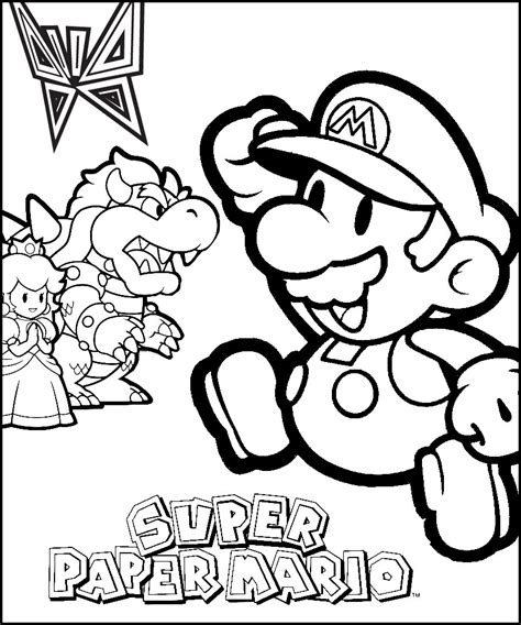 free coloring pages of new super mario bros 2