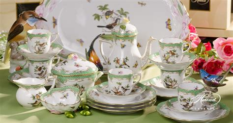 Coffee Set coffee set for 6 persons rothschild bird green fish