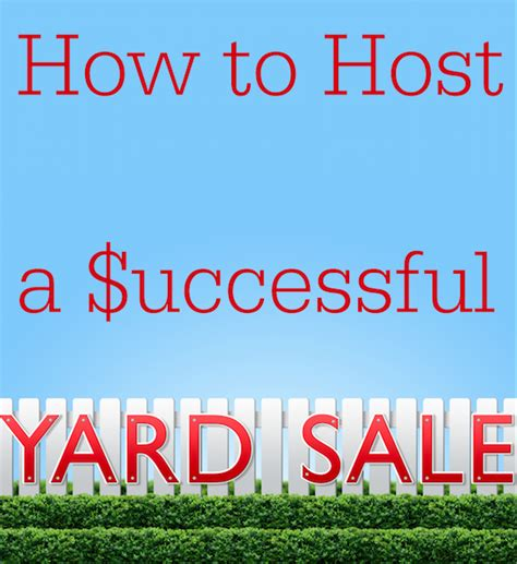 How To Host A Successful Garage Sale by How To Host A Successful Yard Sale Florida Bloggess