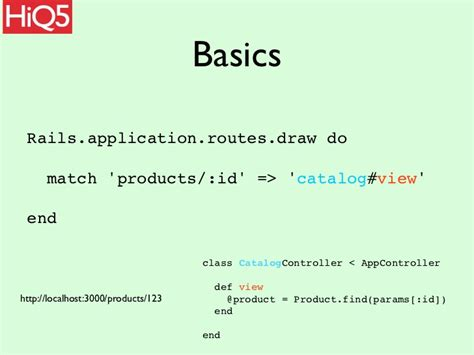 design rails application rails routing and url design