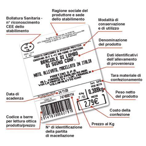 tracciabilità alimentare normativa etichettatura alimenti circolare ministero 6 marzo 2015