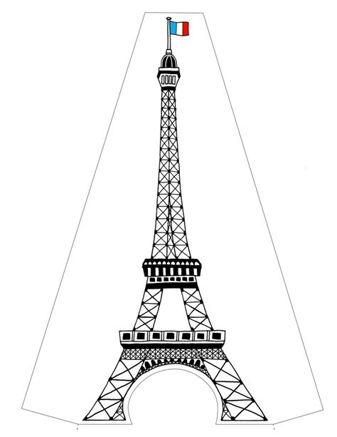 printable paris pictures free printable eiffel tower coloring pages for kids