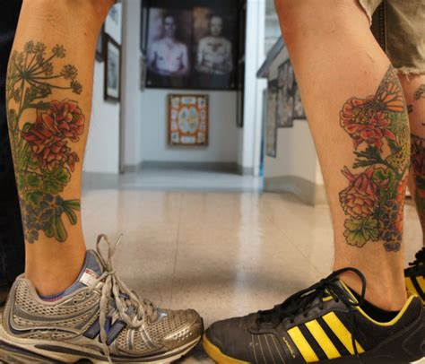 couple tattoo on leg 40 wonderful pictures of tattoos for couples