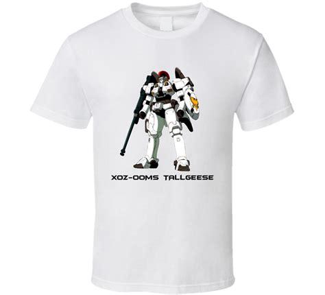 T Shirt Gundam gundam wing model oz 00ms tallgeese t shirt