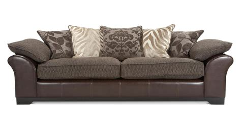 martina sofa dfs dfs martina brown 4 seater cuddler armchair accent